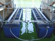 Tritoon Boat Lift | Boat Floater of Oklahoma | Boat Lift Dealer